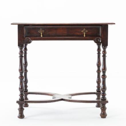 Late 17th Century Oak Side Table CO0616380