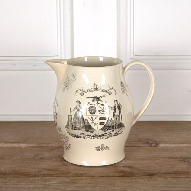 Late 18th Century Creamware Jug DA1310784