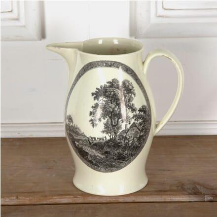 Late 18th Century Creamware Jug DA1310786