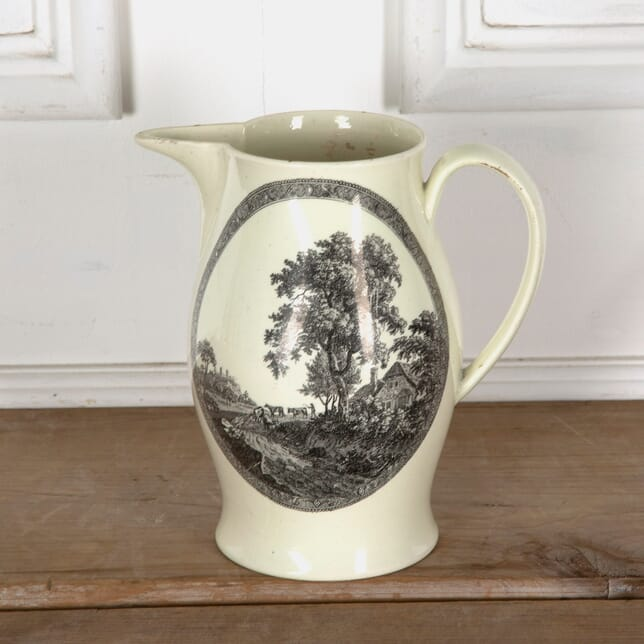 Late 18th Century Creamware Jug DA1310786
