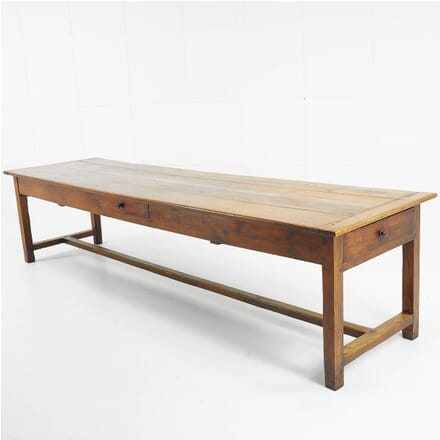 Late 18th Century Large French Cherrywood Farmhouse Table TD069466