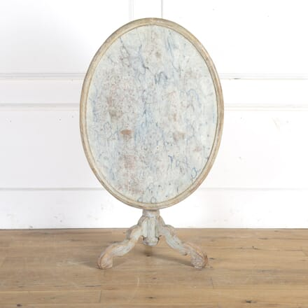 Late 18th Century Swedish Tilt-Top Table TC9014866