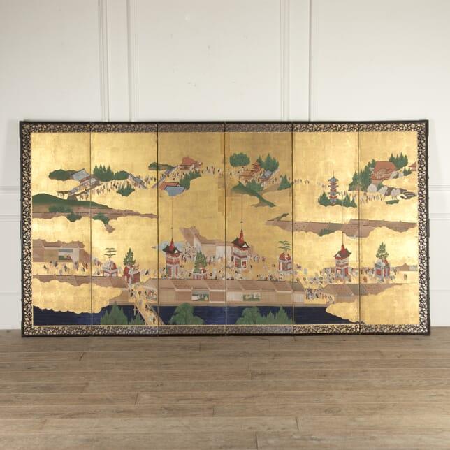 Late 19th Century Byobu Screen WD4114502