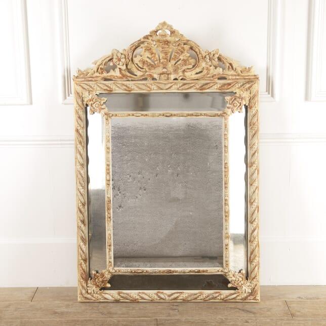French 19th Century Cushion Mirror MI4814592