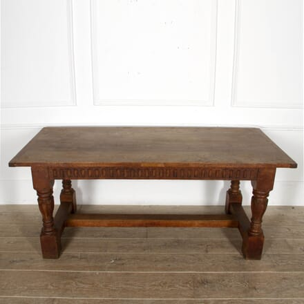 Late 19th Century English Oak Refectory Table TD8817370