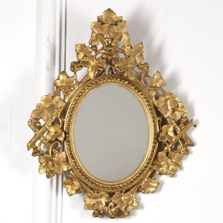 Late 19th Century Italian Florentine Mirror MI8817466