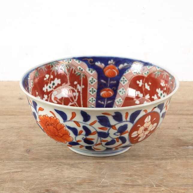Late 19th Century Japanese Imari Pattern Bowl DA8811377