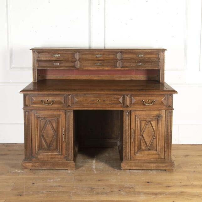 Late 19th Century Oak Desk DB8715342