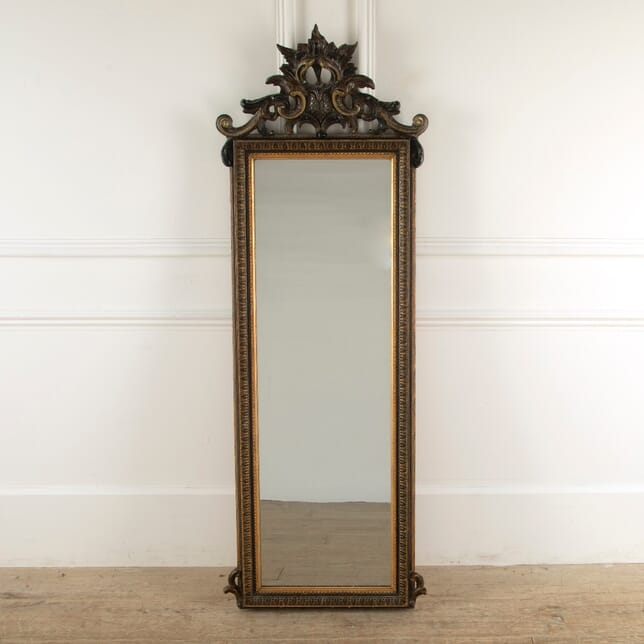 Late 19th Century Swedish Baroque Mirror MI8811382
