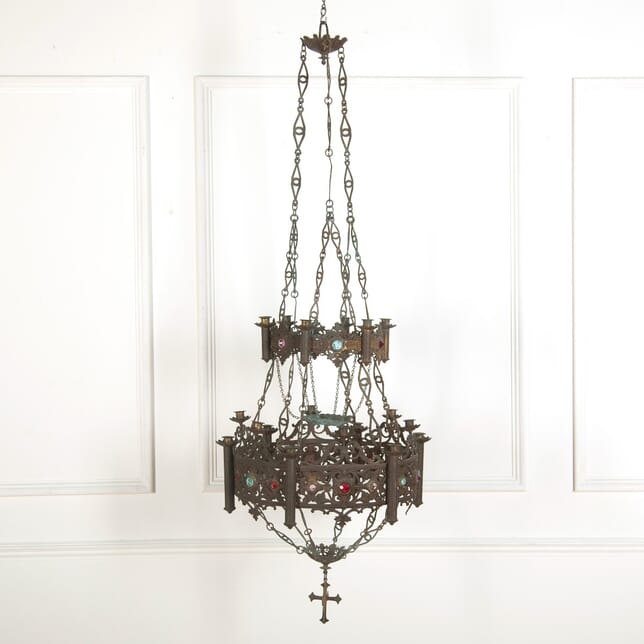 Church Tiered Candle Chandelier LC7260417