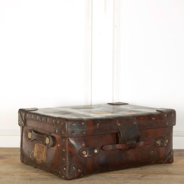 Leather Suitcase DA359020