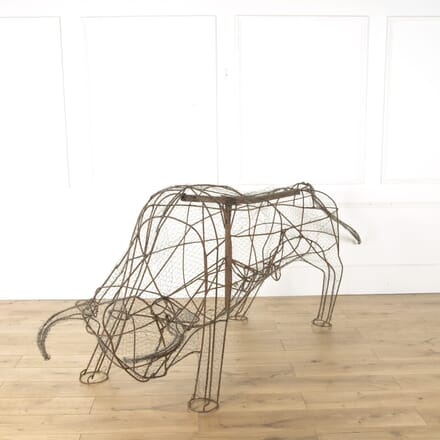 Life Size Bull Sculpture DA379653