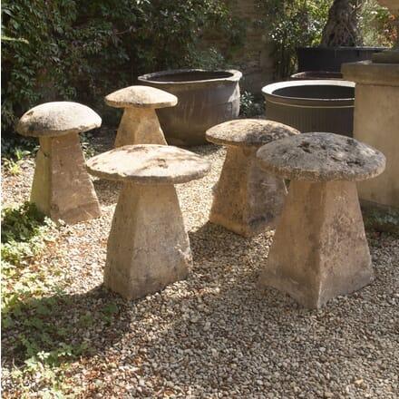 Limestone Staddle Stones GA1916793