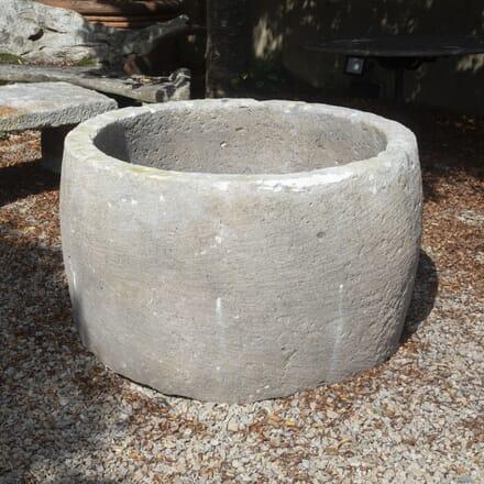 French 19th Century Limestone Planter GA1916987