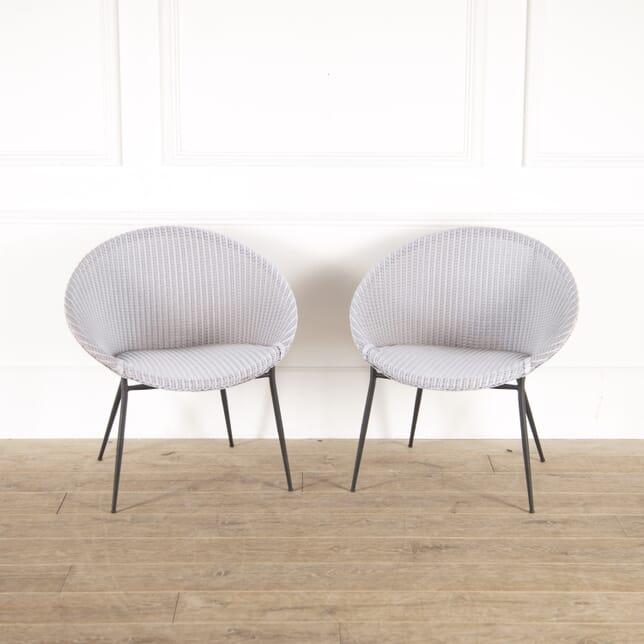 Lloyd Loom Lilac Sputnik Chairs CH7814497
