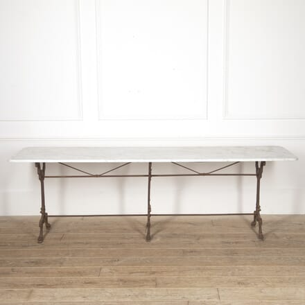 French Iron and Marble Bistro Table GA4416756