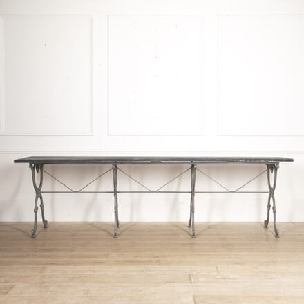 Long French Cast Iron Table TD4416420