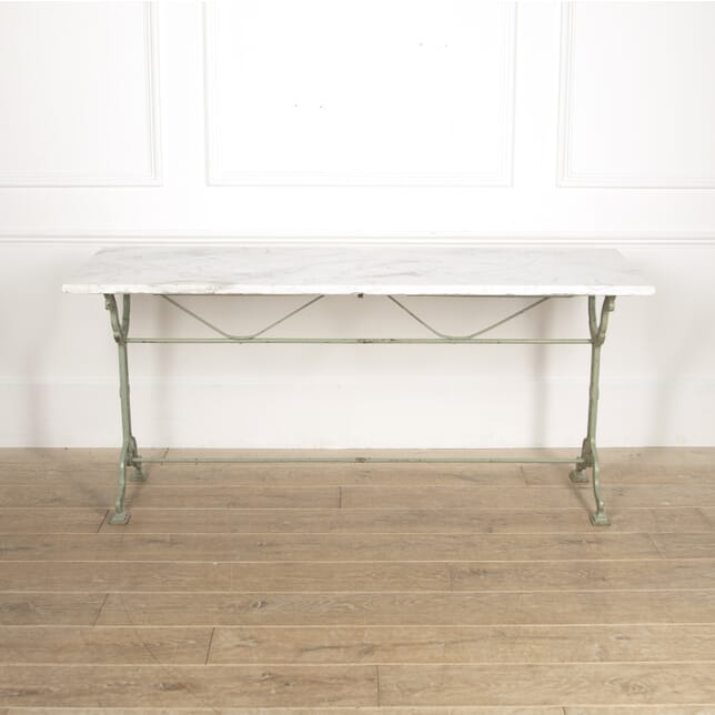 Long Marble Top Bistro Table GA1516503