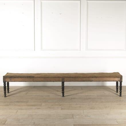 Long Napoleon III Bistro Bench SB1510578