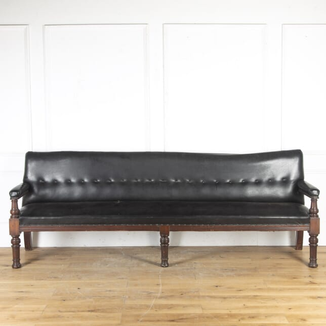 Long Victorian Hall Bench CH8516506