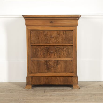 Louis Philippe Walnut Commode CC5214613