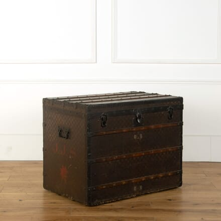 19th Century Original Louis Vuitton Trunk CB359014