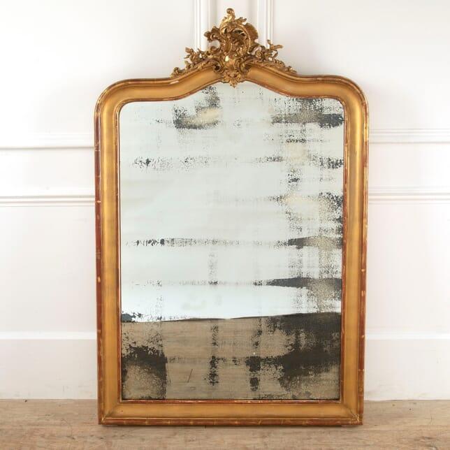 Louis XV Gilt Overmantle Mirror MI4511235