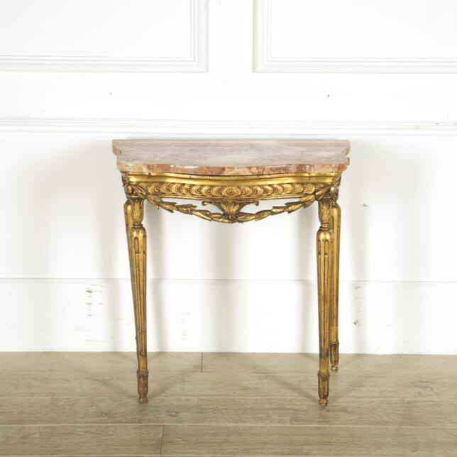 Louis XVI Giltwood Console Table CO889689