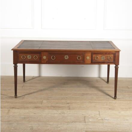Louis XVI Mahogany Bureau Plat DB4515715