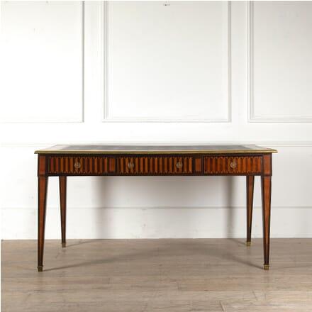 Louis XVI Style Marquetry Bureau Plat DB4510883
