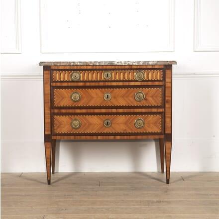 Louis XVI Period Parquetry Commode CC3915778