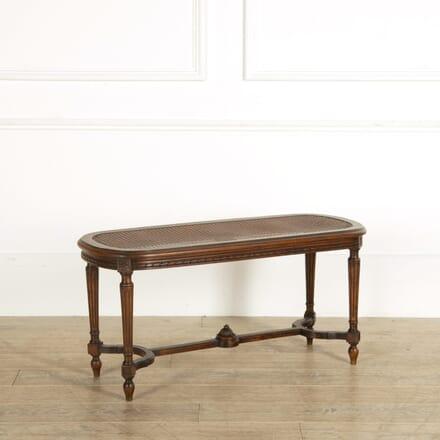 Louis XVI Revival Banquette SB159057
