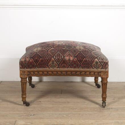 Louis XVI Revival Footstool ST1515206