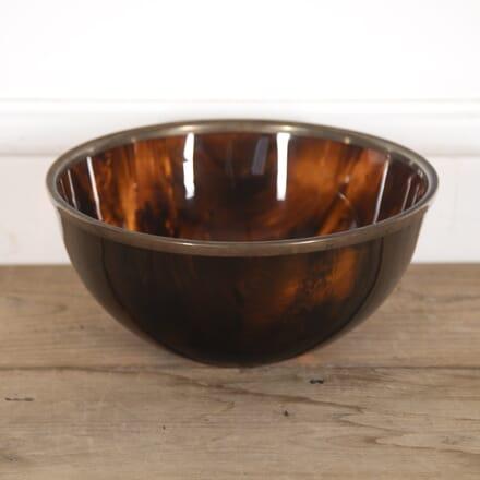 French Faux Tortoiseshell Bowl DA3016298