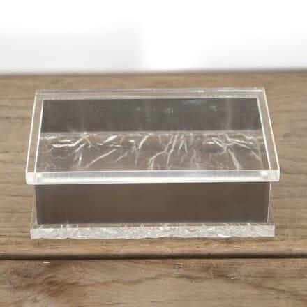 Italian Lucite and Chrome Box DA3014164