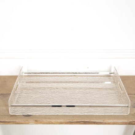 French Lucite Cocktail Tray DA3016006