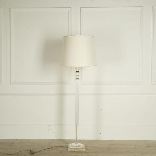 Lucite Floor Lamp LF309558