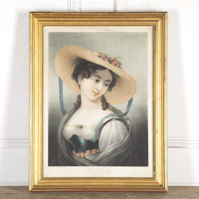 Lithograph of Mademoiselle Vanmaeler WD8014318