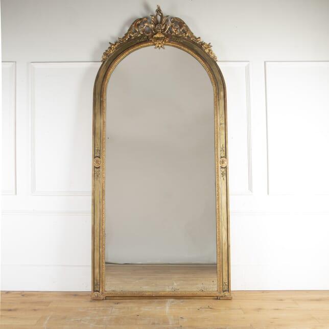 Magnificent French 19th Century Gilded Mirror MI8113961