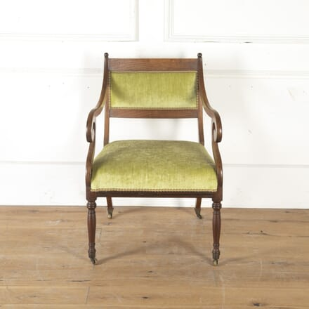19th Century French Mahogany Chair CH7913999