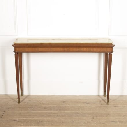 Italian Mahogany Console Table CO3015055