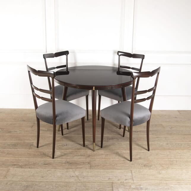 Mahogany Games Table and Chairs TD3013521