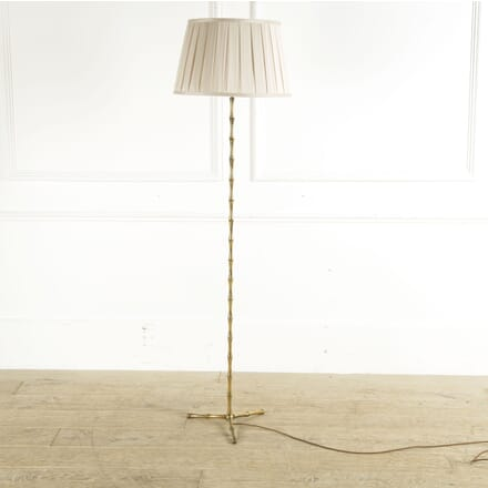 Maison Bagues Style Brass Faux Bamboo Standard Lamp LF4110247