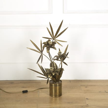 Maison Jansen 1970s Brass Table Lamp LS539591