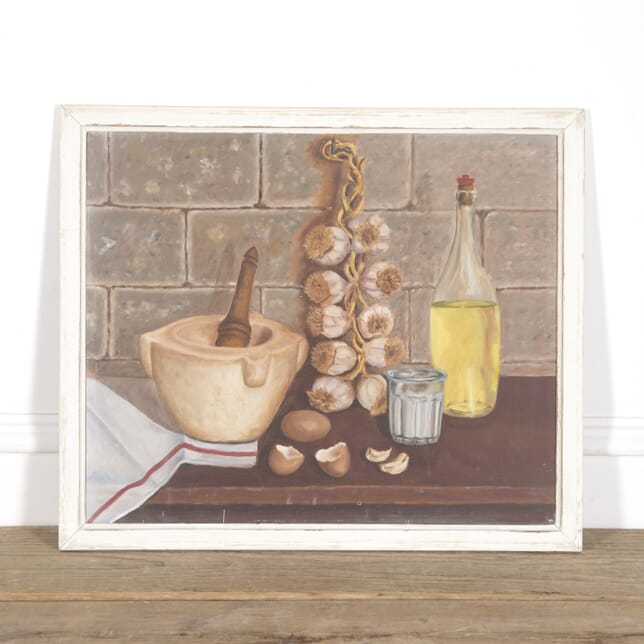 'Making Aioli' Still Life Painting WD1516567