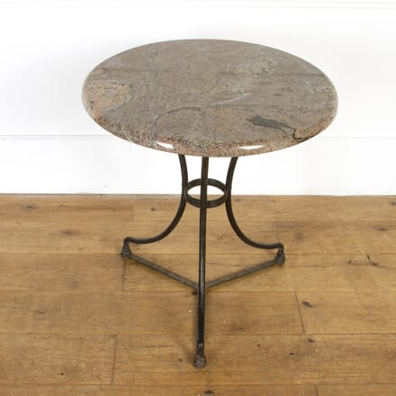 French Marble Top Bistro Table GA7117694