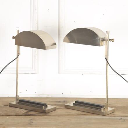 Pair of Bauhaus Desk Lamps by Marcel Breuer LT8715690
