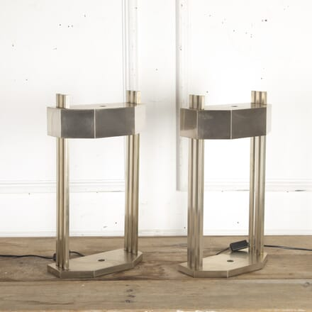 Pair of Bauhaus Lamps by Marcel Breuer LT8715691