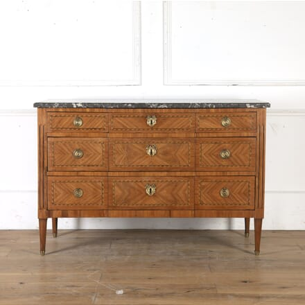 French 18th Century Marquetry Commode CC7615862