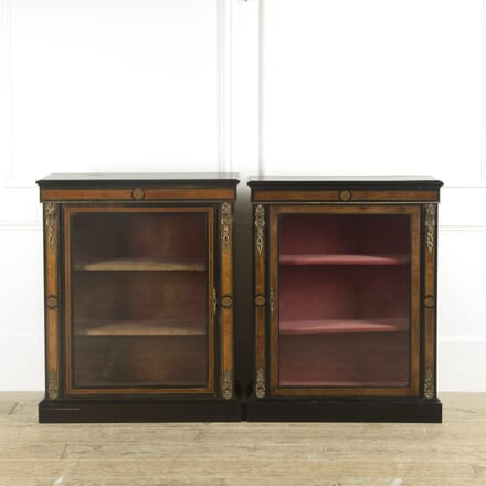 Matched Pair of 19th Century Pier Cabinets BU889681